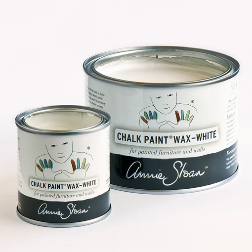 Annie Sloan Chalk Paint™ Wax White open tins